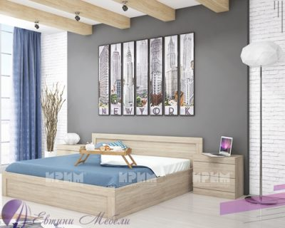 Спален комплект City 7002